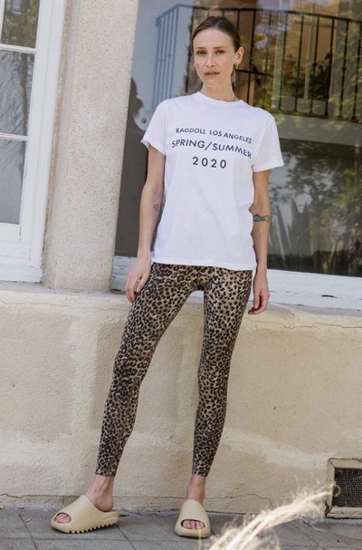 Leopard Leggings Brown Leopard