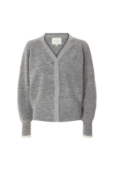 Laura Cardigan Grey Melange
