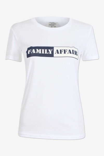 Jerry T-Shirt 'Family Affair' Bright White