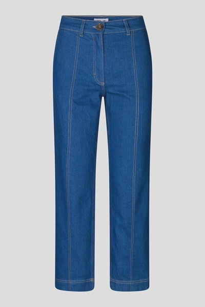 Noell Jeans Mid Blue Raw