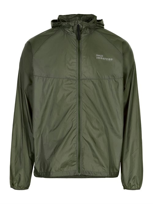 Packable Jacket Unisex Oil Green