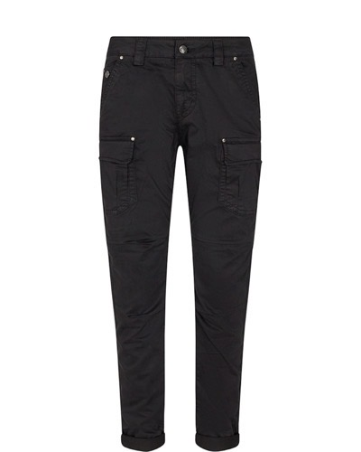 Cheryl Cargo Reunion Pant Regular Black