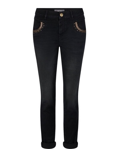Naomi Mercury Jeans Long Black
