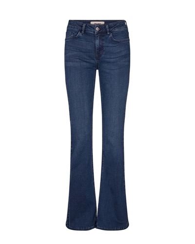 Alli Core Flare Jeans Long Blue Denim