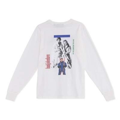Artwork Tee Long Sleeve Off White