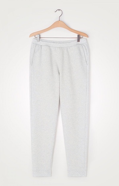 Baetown Joggers Light Grey Melange