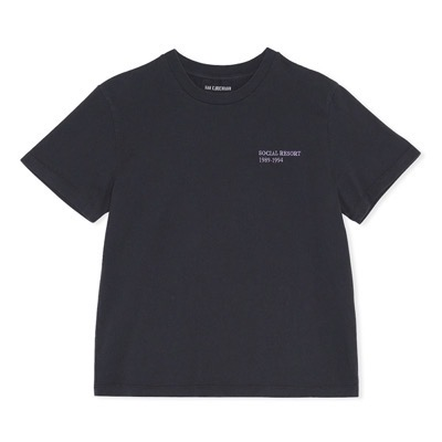 Artwork Tee Faded Black