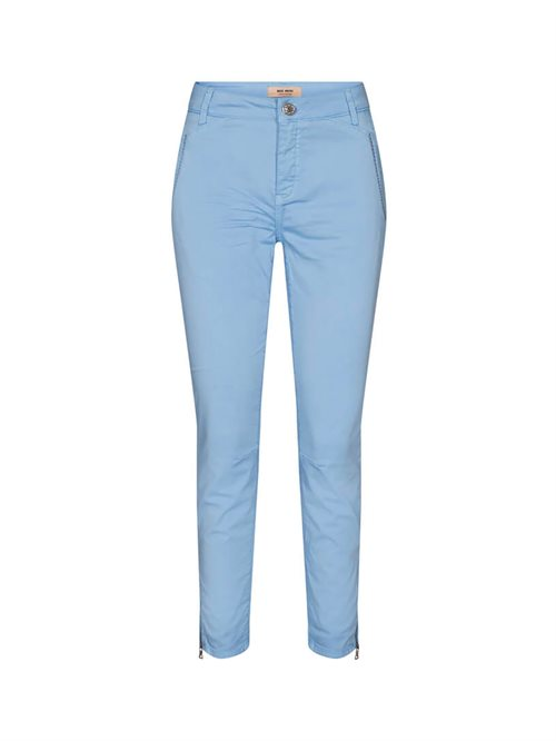 Etta Relic Pant Cropped Chambray Blue