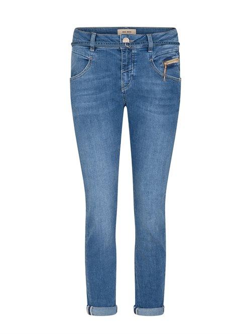 Nelly String Jeans Ankle Light Blue