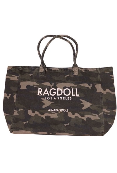 Ragdoll Holiday Bag Camo Army