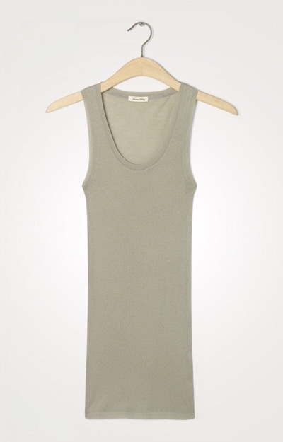 Massachusettes Tank Top Sandstone
