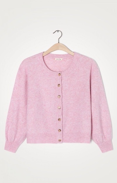 Nuasky Cardigan Cotton Candy