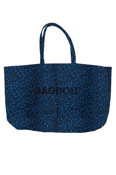 Ragdoll Holiday Bag Electric Blue Leopard