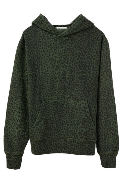 Oversized Hoodie Army Leopard