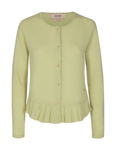 Alice Cashmere Cardigan Winter Pear