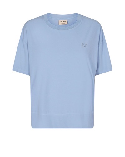 Ripley O-Neck Short Sleeve Tee Bel Air Blue