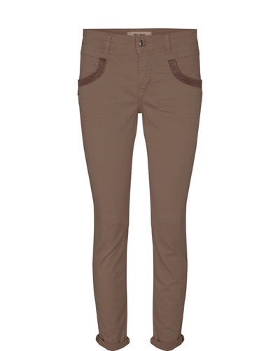Naomi Daze Pant Regular Toasted Coconut