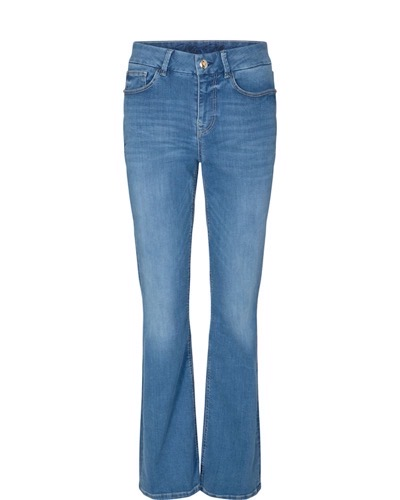 Alli Lift Flare Jeans Long Light Blue