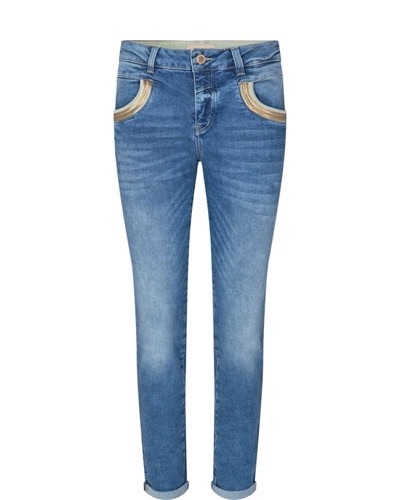 Naomi Wave Jeans Regular Blue