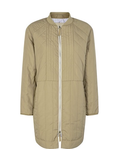 Sila Quilted Coat New Sand