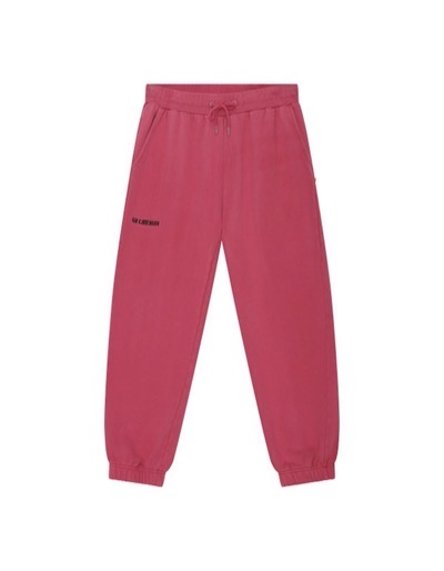 Sweatpants Faded Dark Pink