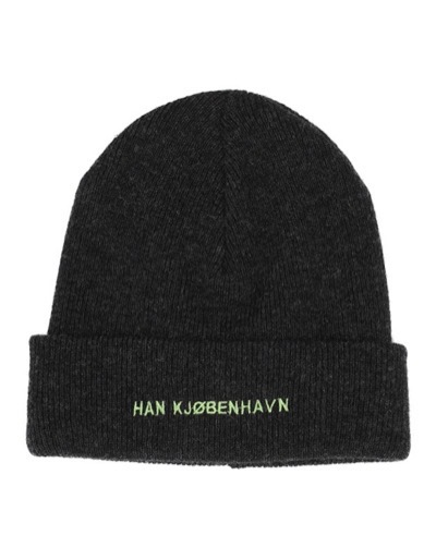 Top Beanie Black Melange