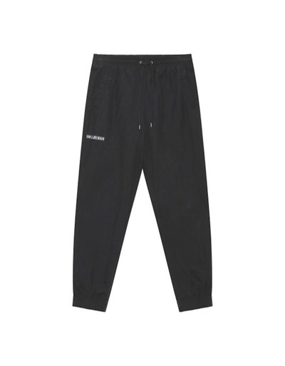 Track Pants Black Nylon