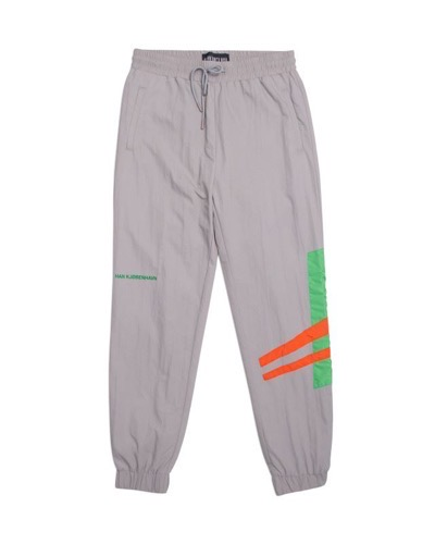 Track Pants Grey Colourblock
