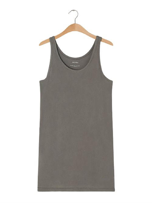 Vegiflower Tank Dress Metal