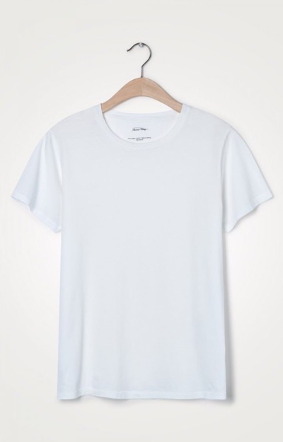 Vegiflower Tee O-Neck White