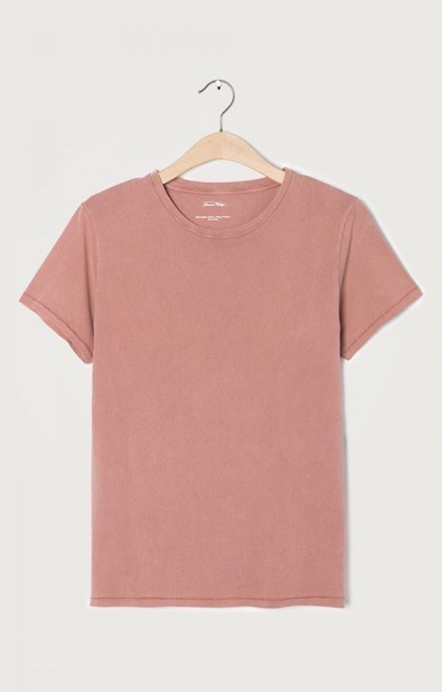 Vegiflower Tee O-Neck Grapefruit