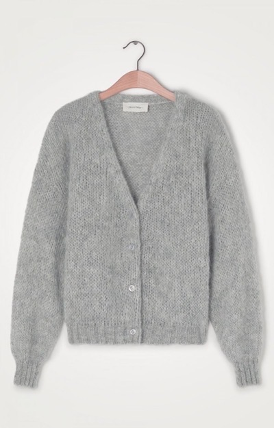Vogbay Cardigan Heather Grey